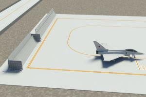 Adam Air Base Oman Jet Blast Deflector