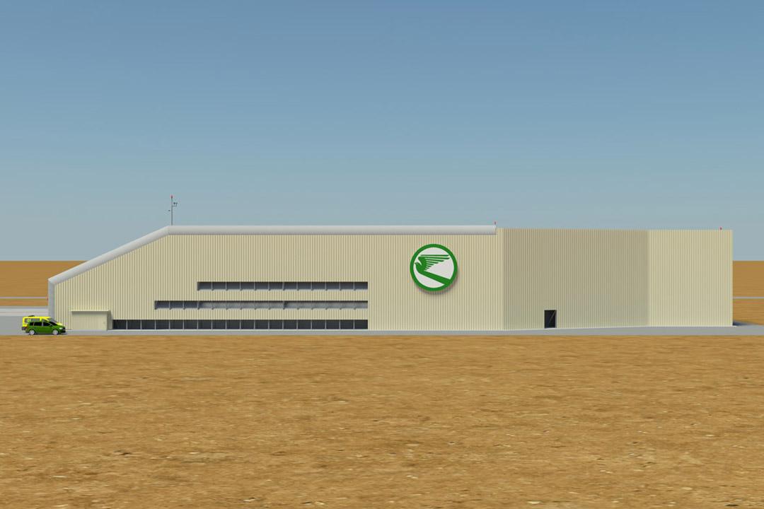 Ashgabat Ground Run-up Facility