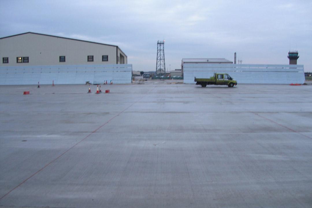 Lakenheath Jet Wake Barrier