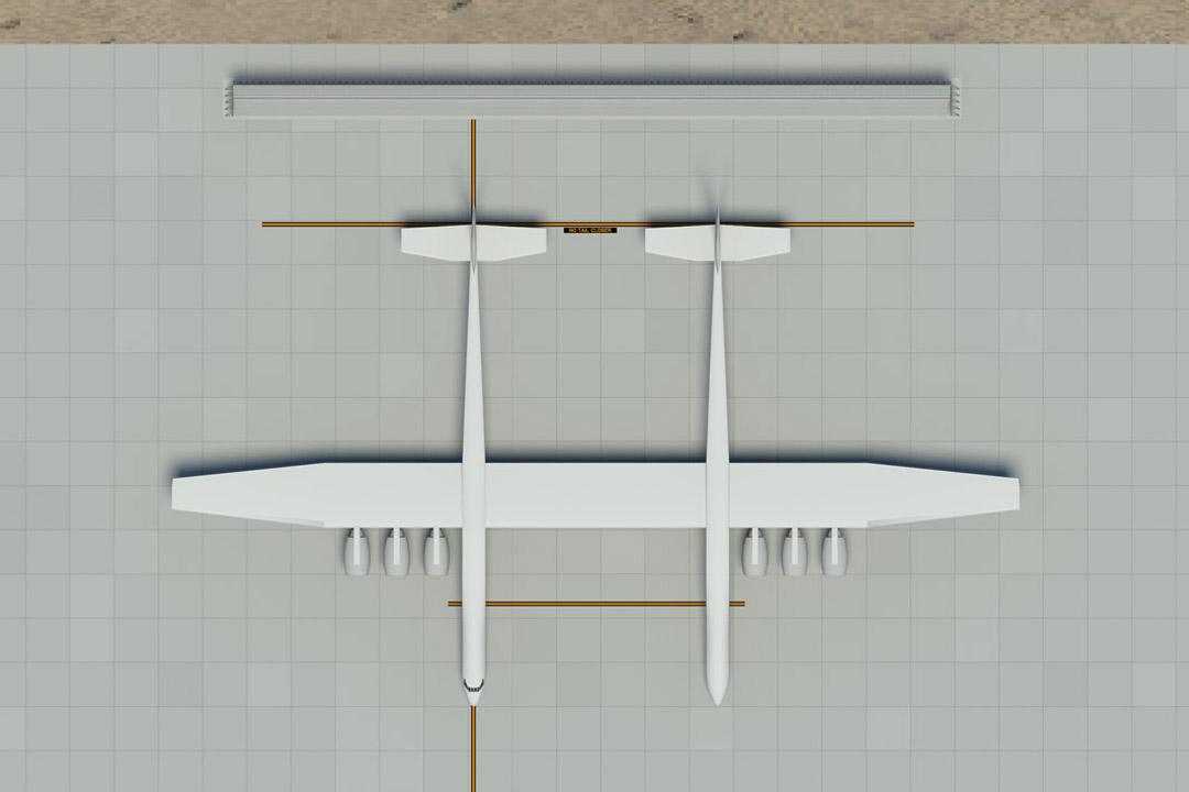 Stratolaunch Jet Blast Fence