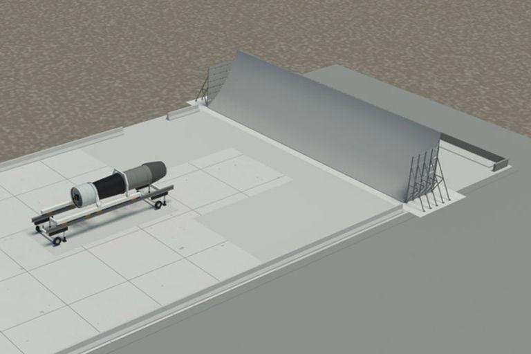 Yuma Jet Blast Deflector