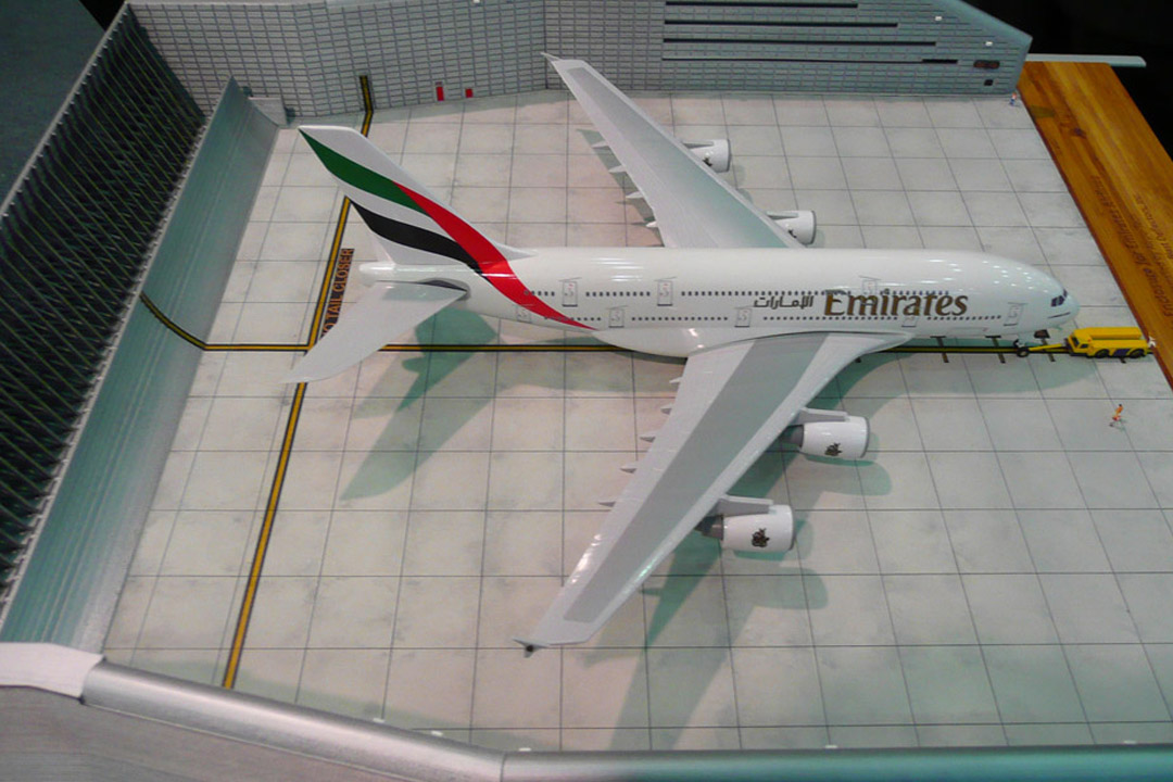 Emirates A380 Ground Run-up Facility