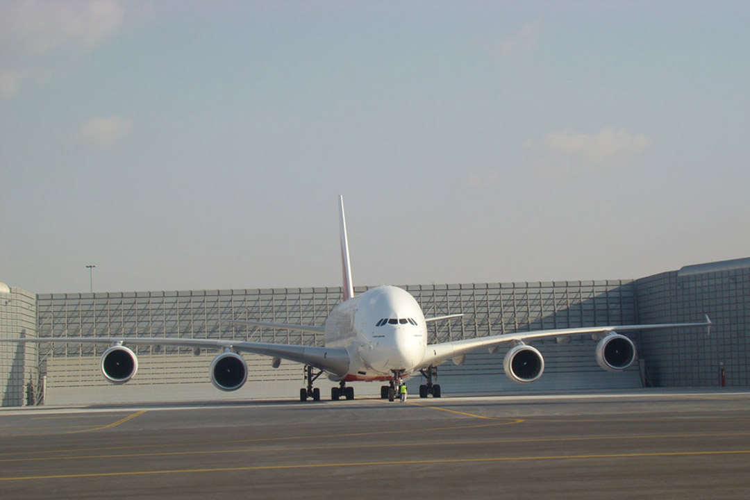 Emirates A380 Ground Running Enclosure