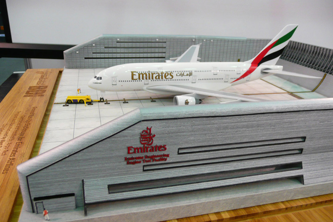 Emirates A380 Ground Run-up Enclosure