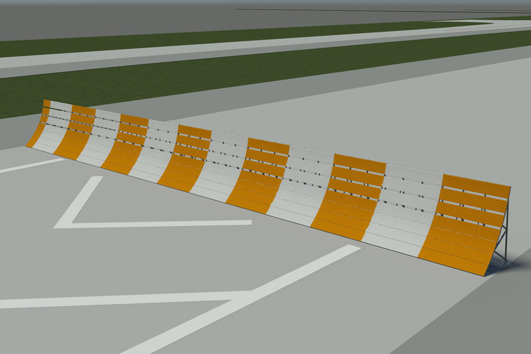 LAX Temporary Jet Blast Wall