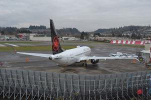 Boeing Renton Jet Blast Barrier