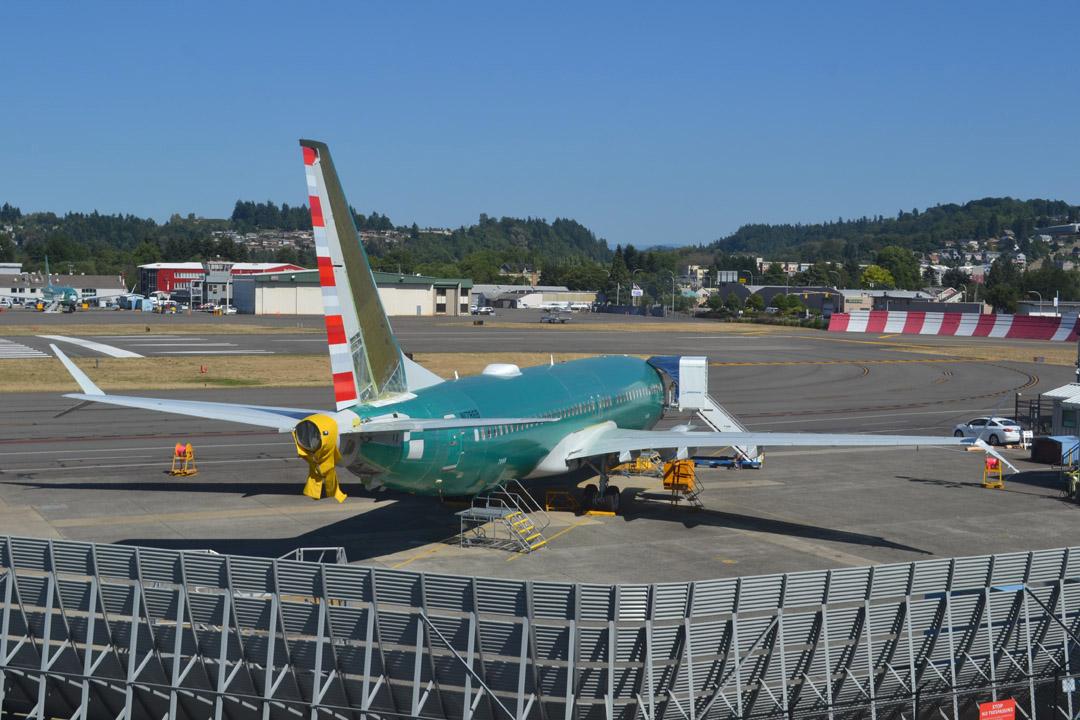 Boeing Renton Jet Blast Screen