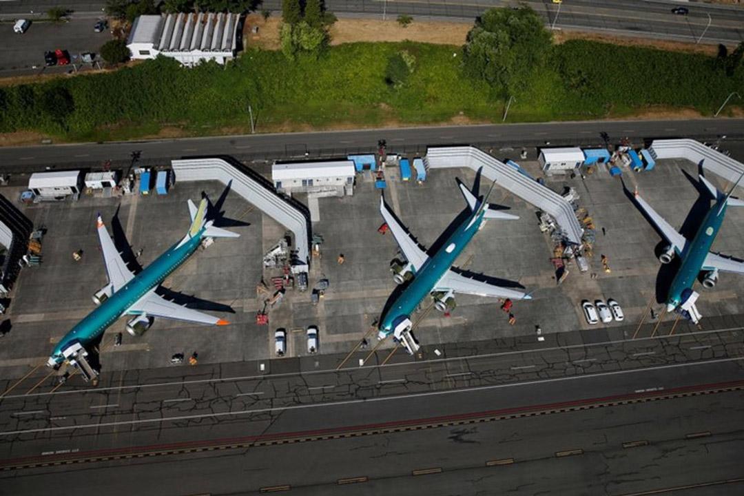 Boeing Renton Jet Blast Wall