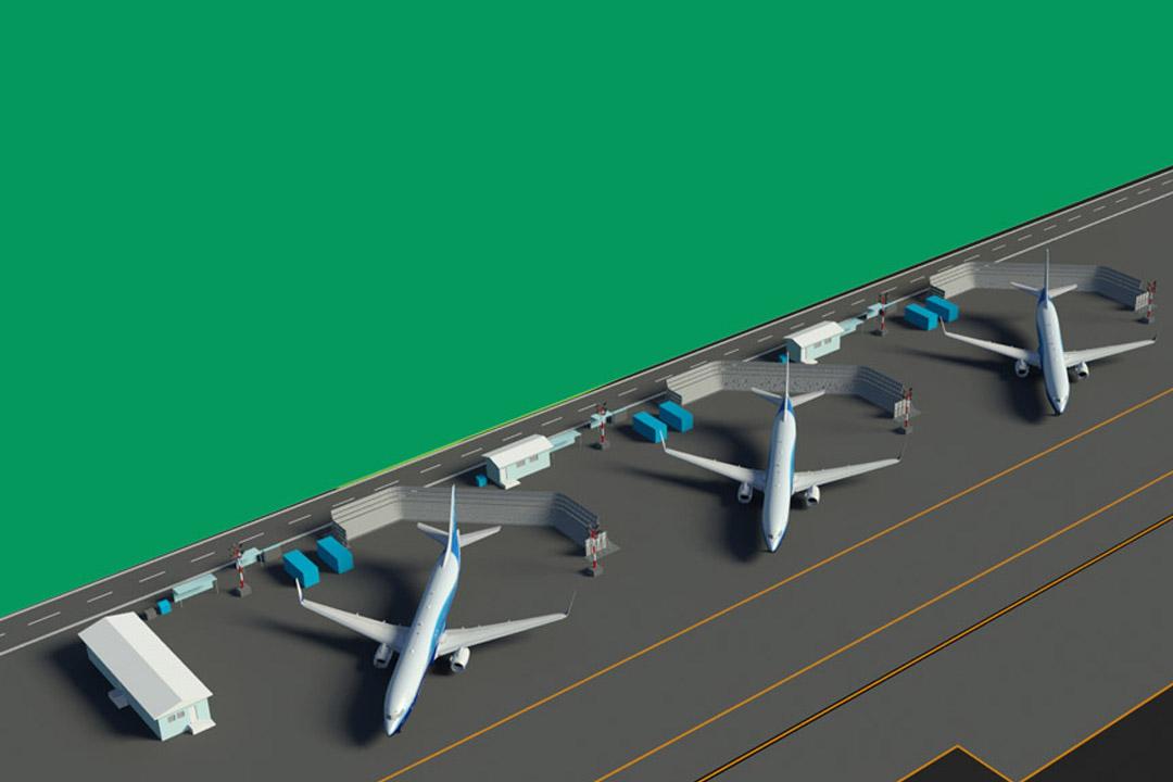 Boeing Renton Jet Blast Fence