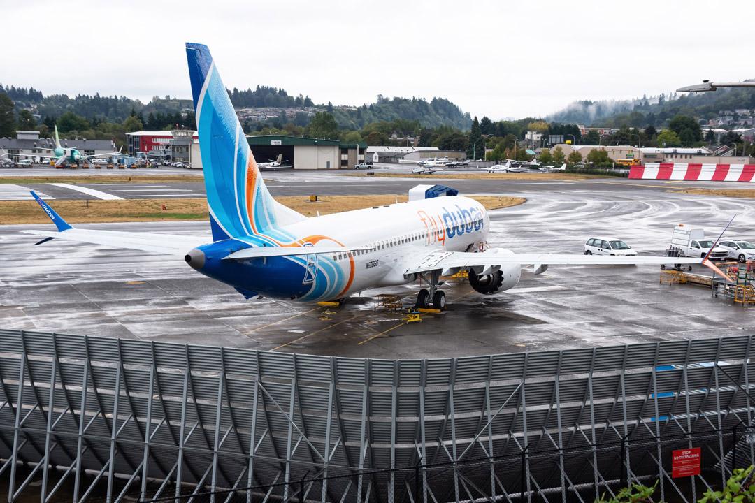Boeing Renton Jet Blast Deflector
