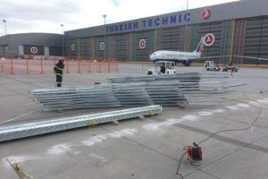 Turkish Technic Jet Blast Screen