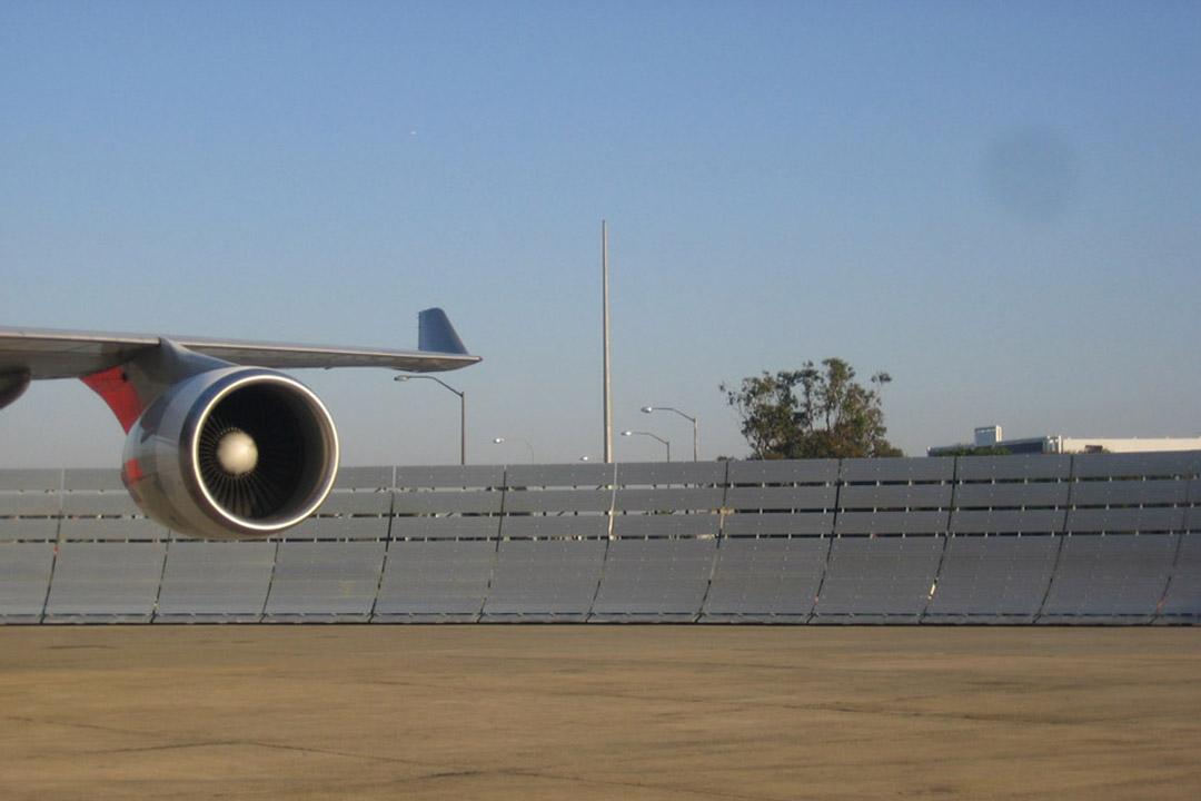 Qantas Jet Blast Deflector