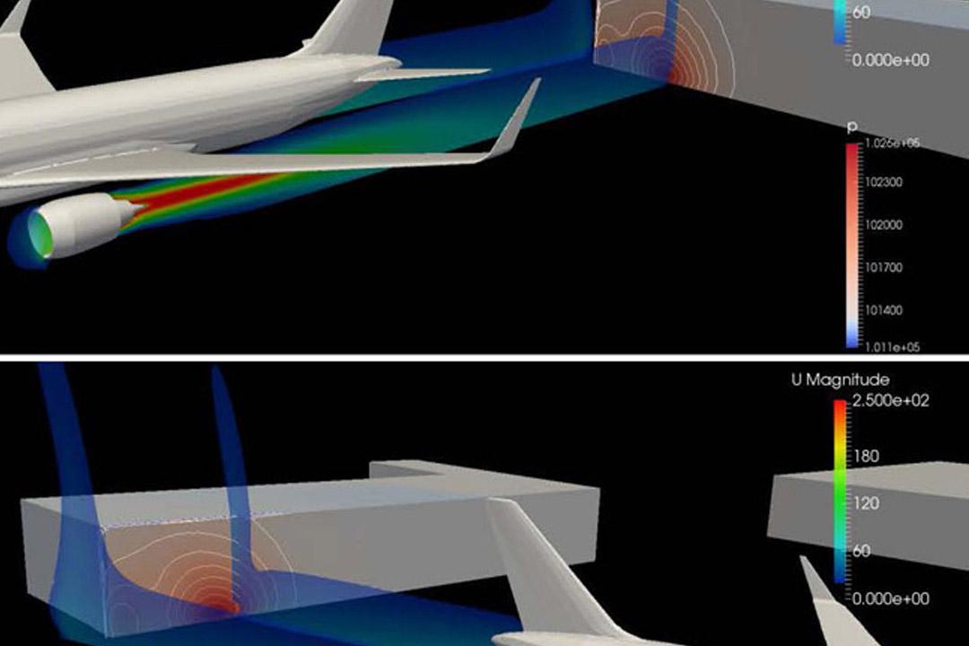 Jet Blast Deflector CFD Study