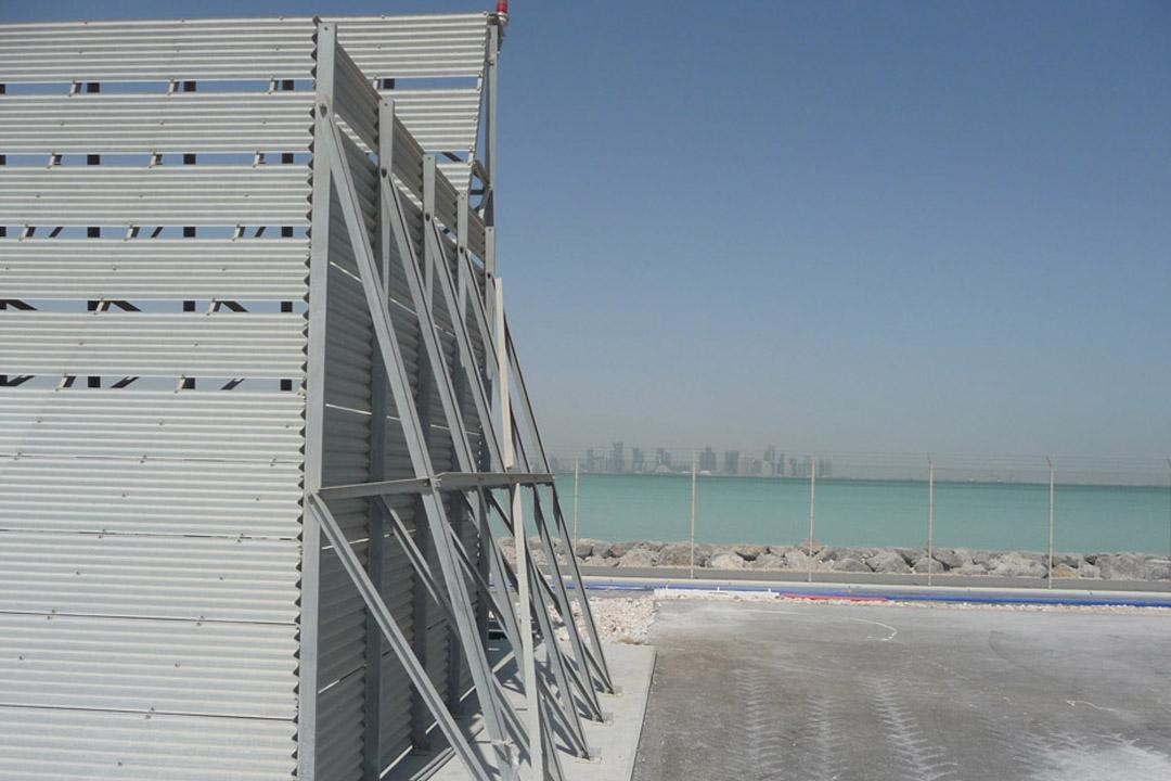 Doha U19 Jet Blast Wall