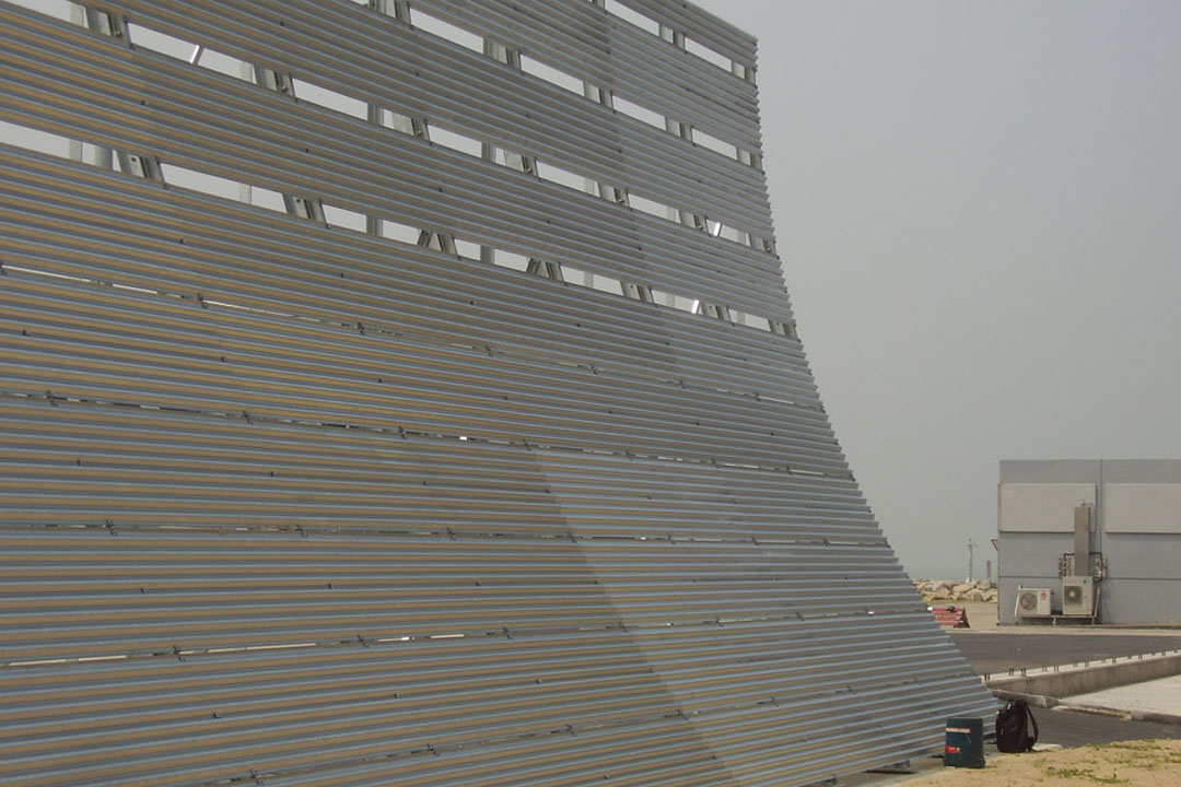 Hong Kong Jet Blast Barrier