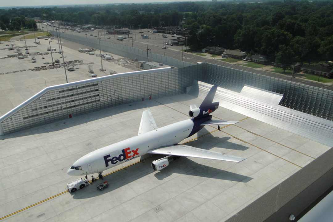 FedEx Memphis Jet Blast Fence