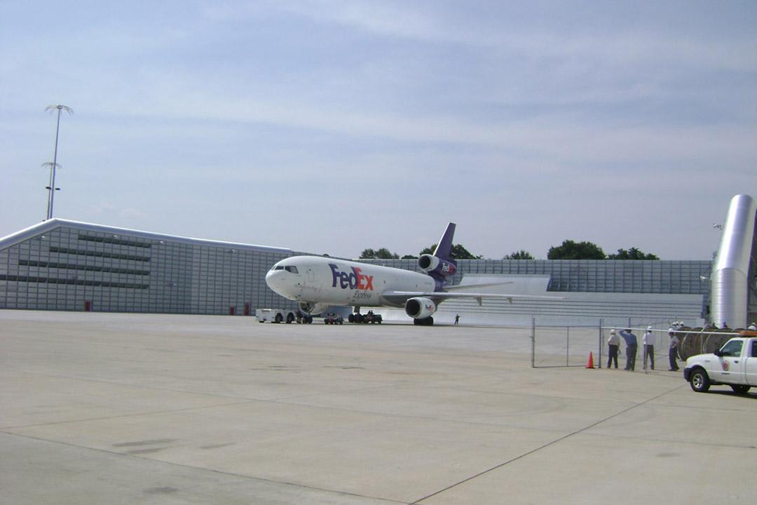 FedEx Memphis Jet Blast Deflector