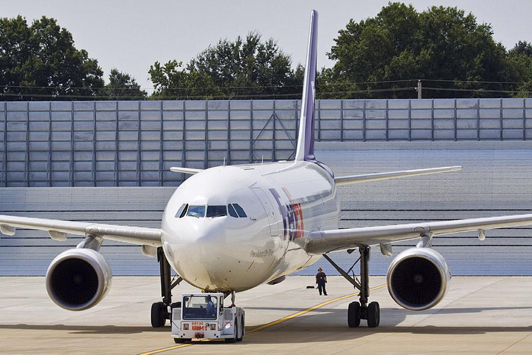 FedEx Memphis Jet Blast Wall