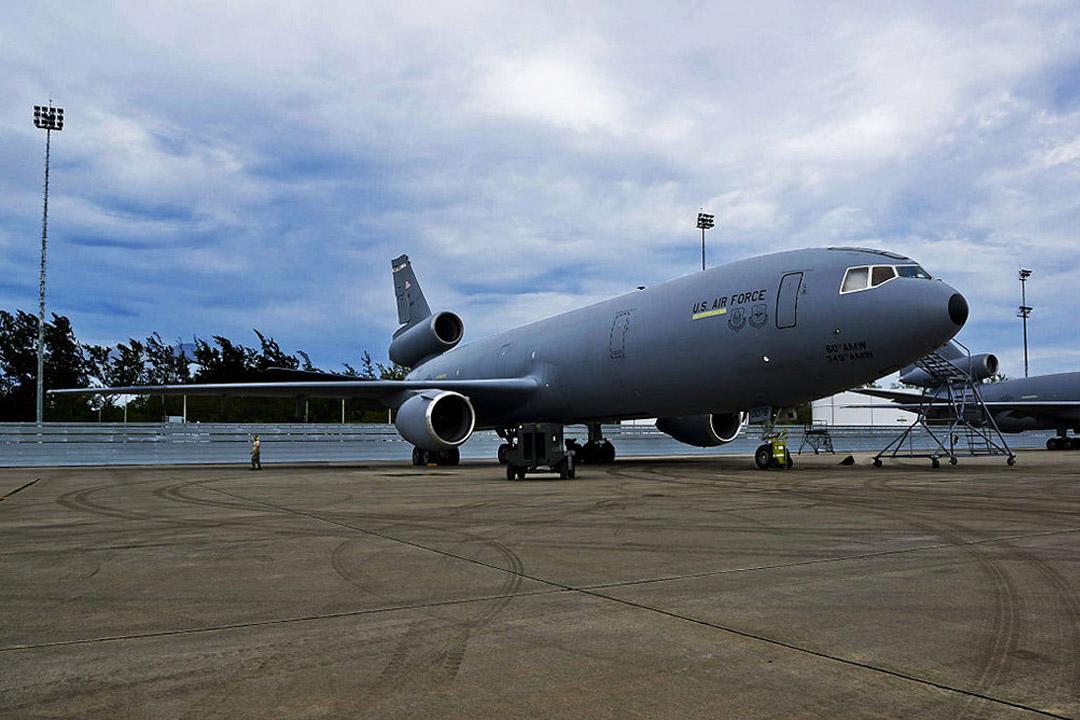 Diego Garcia Jet Wake Fence