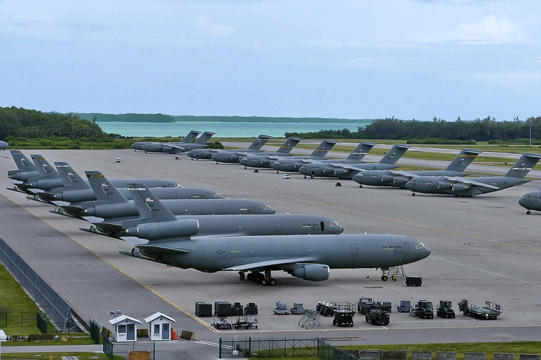 Diego Garcia Jet Wake Deflector
