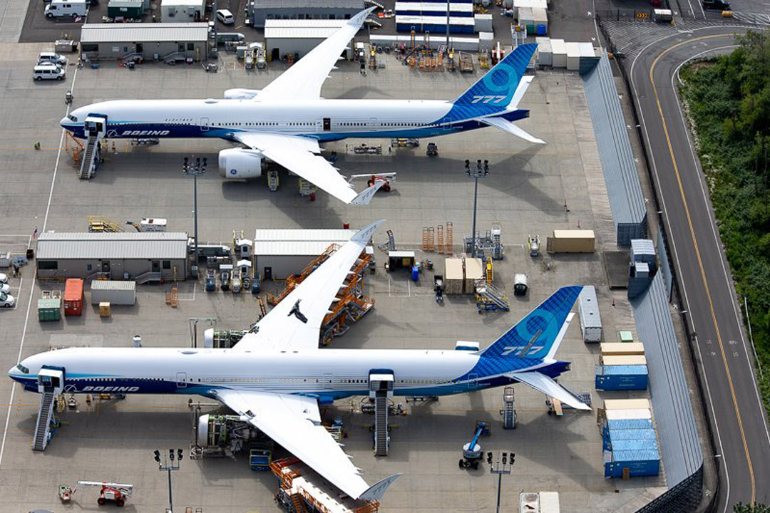 Boeing Everett Blast Screen