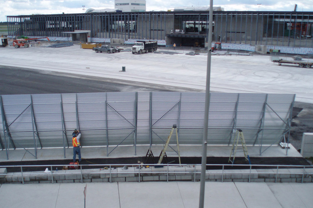 Ottawa Jet Blast Fence
