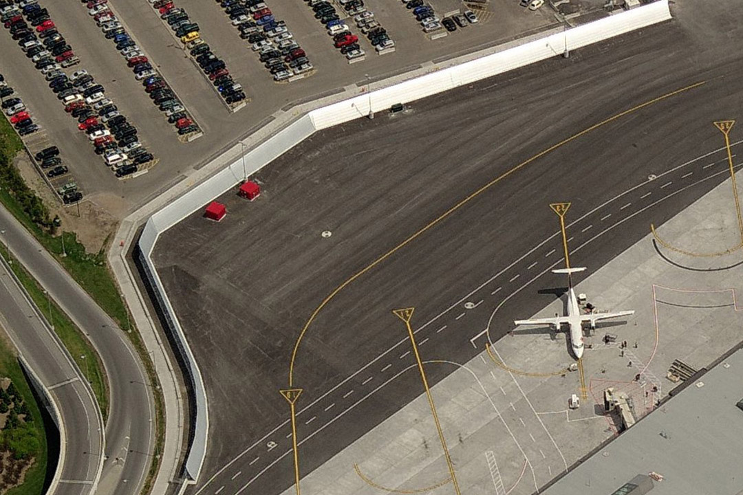 Ottawa Jet Blast Deflector