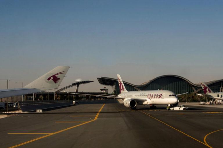 Doha Jet Blast Screen