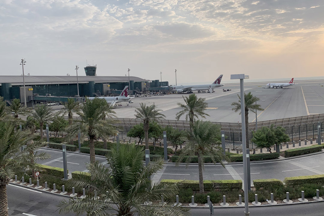 Doha Jet Blast Barrier