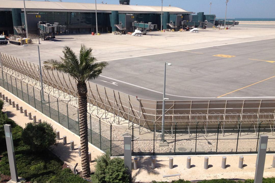Doha Jet Blast Deflector