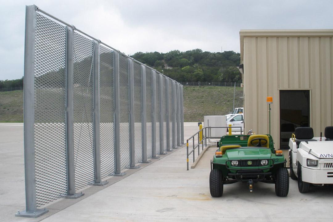 Killeen Jet Blast Fence