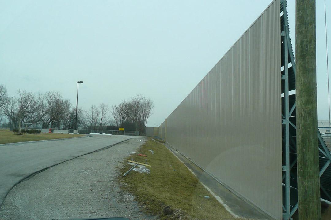 O'Hare Jet Blast Wall