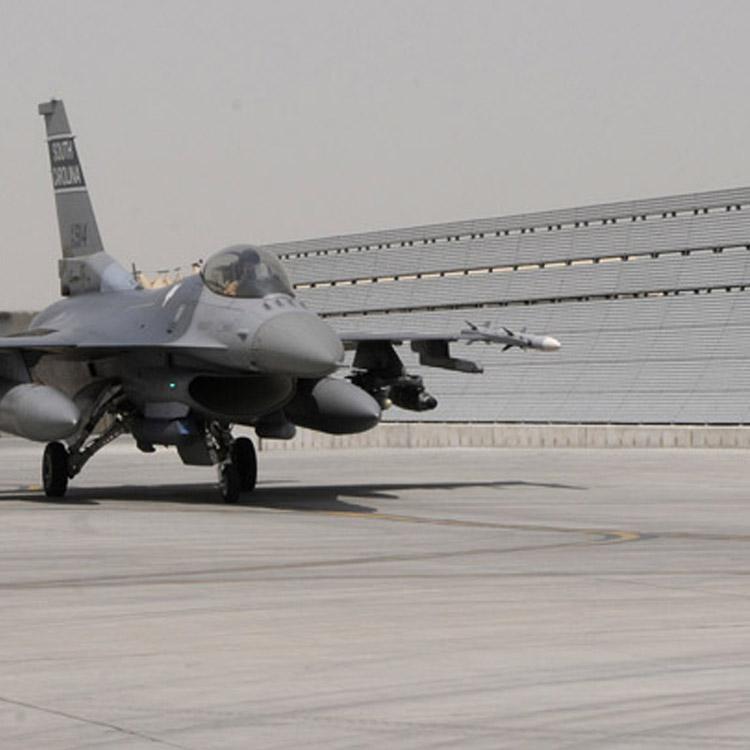 F-16 Jet Blast Barrier