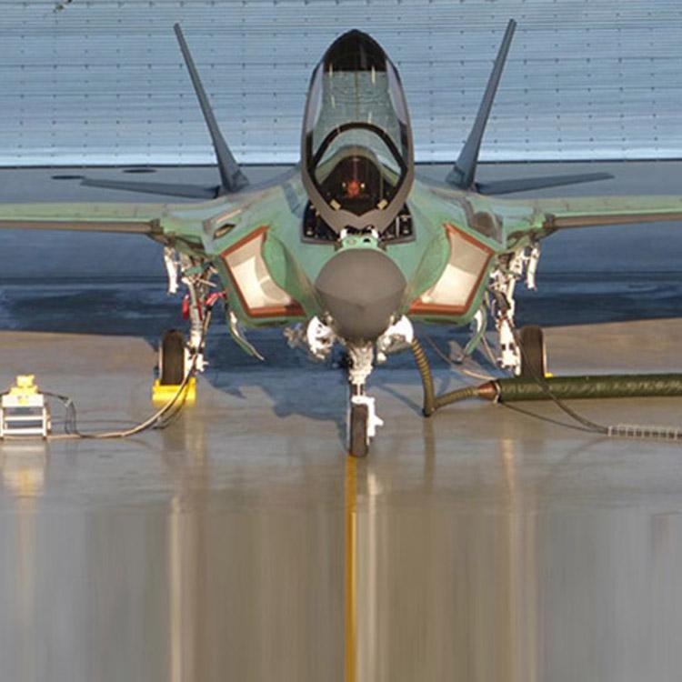 F-35 Jet Blast Wall