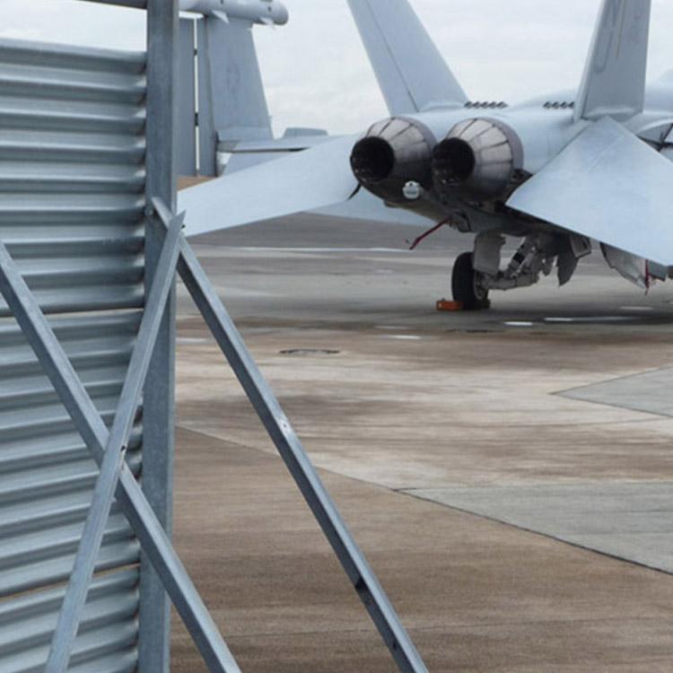 F-18 Jet Blast Deflector