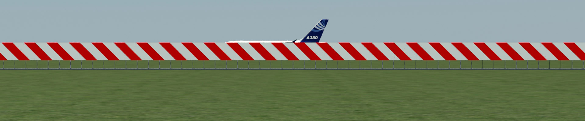 End Around Taxiway Visual Screen