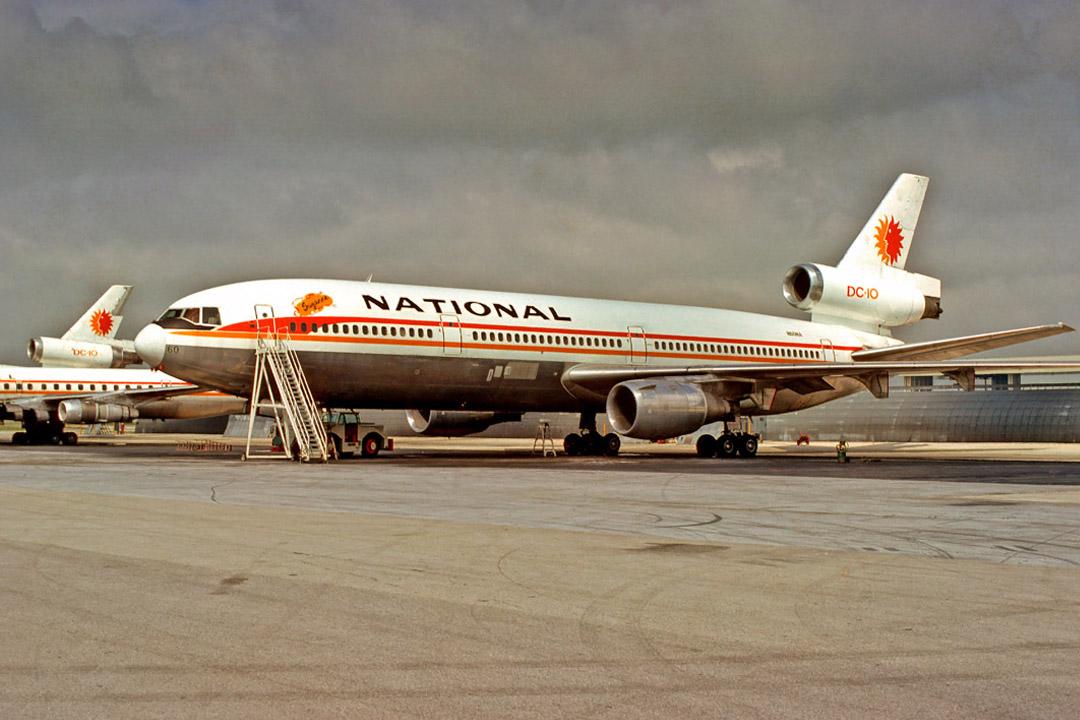 National Airline Jet Blast Deflector