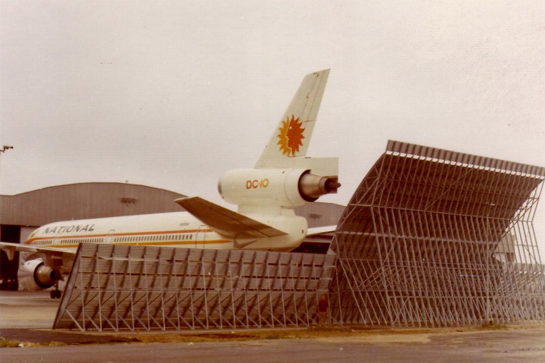 National Airline Jet Blast Barrier