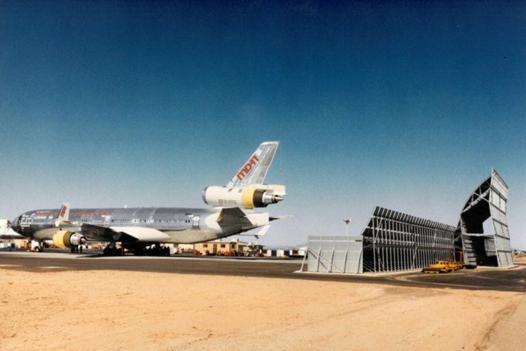Jet Blast Barrier